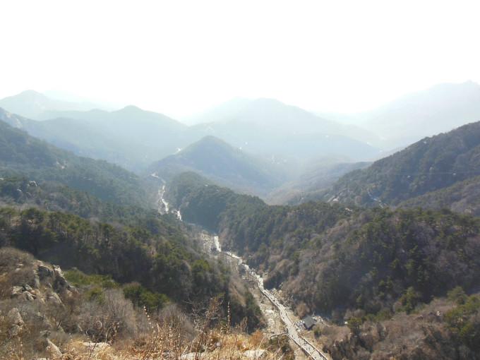 2012 冬 回家路上的风景 第一站 泰安 泰山 岱庙