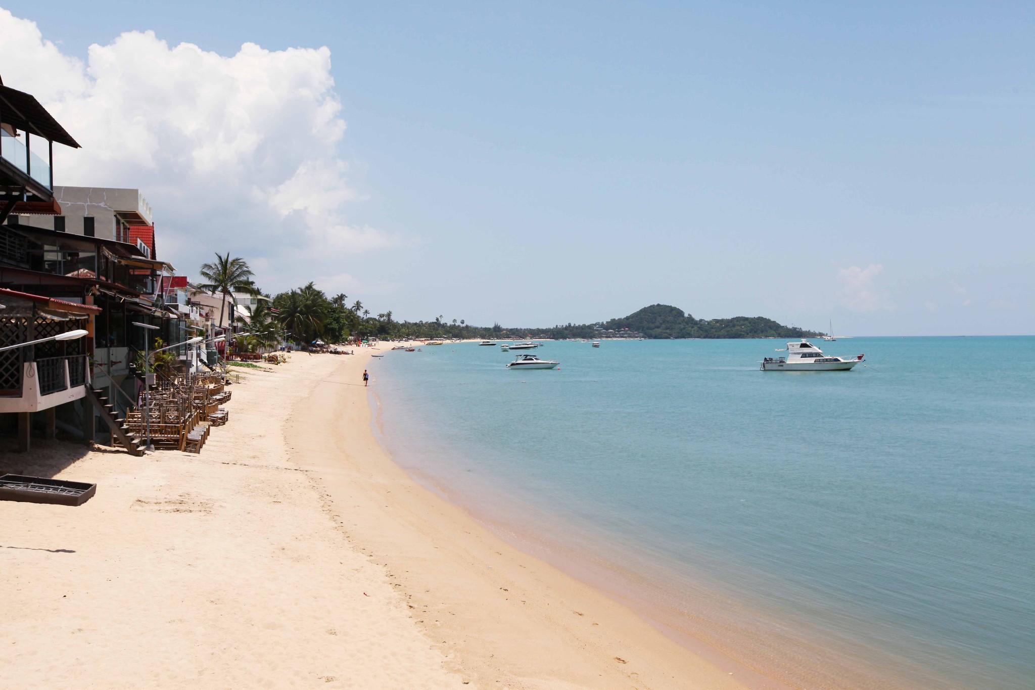 泰国景点推荐 位于泰国湾的苏梅岛是全国第三大岛,面积247平方公里