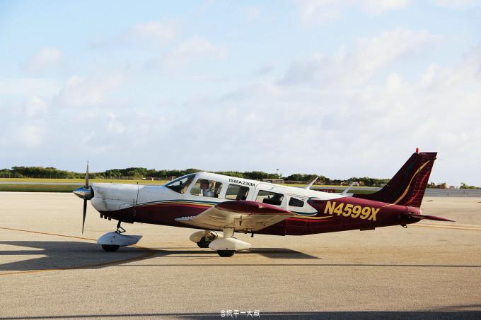 花样游记大赛#自驾小飞机环摄塞班岛,带你装b带你飞!