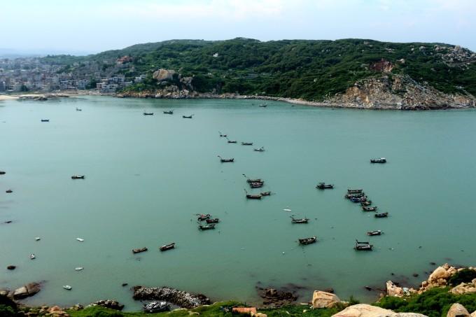 大岞风景 炮洞 炮台 惠女风情园 黄昏海岸 著名的惠安女民兵边防连
