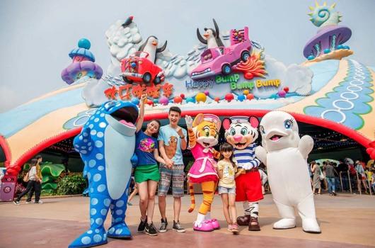 广州出发 珠海长隆海洋王国,烟花汇演一天游 含海洋王国门票 车费