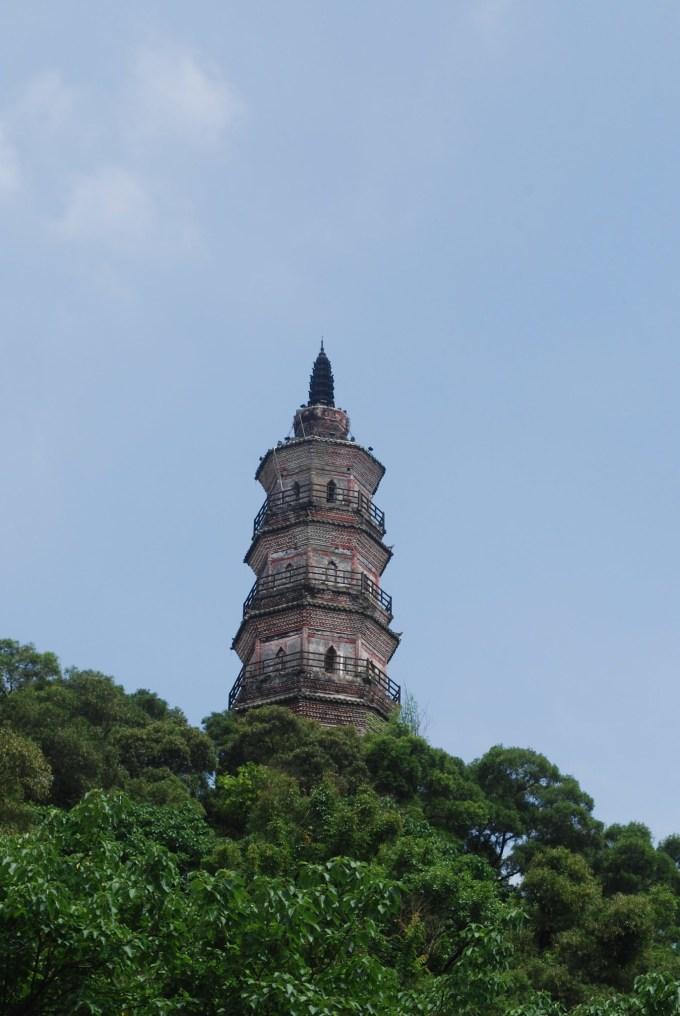 西山庙,青云塔