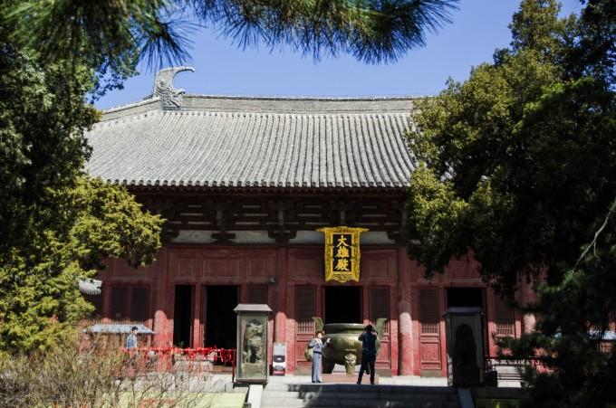 中国古建筑最大的单层木结构建筑