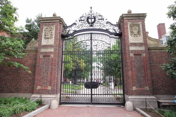 哈佛最大图书馆图片