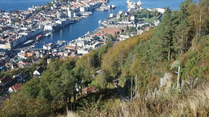 碰触北欧 之十七 (弗洛伊恩山),挪威自助游攻略 - 蚂