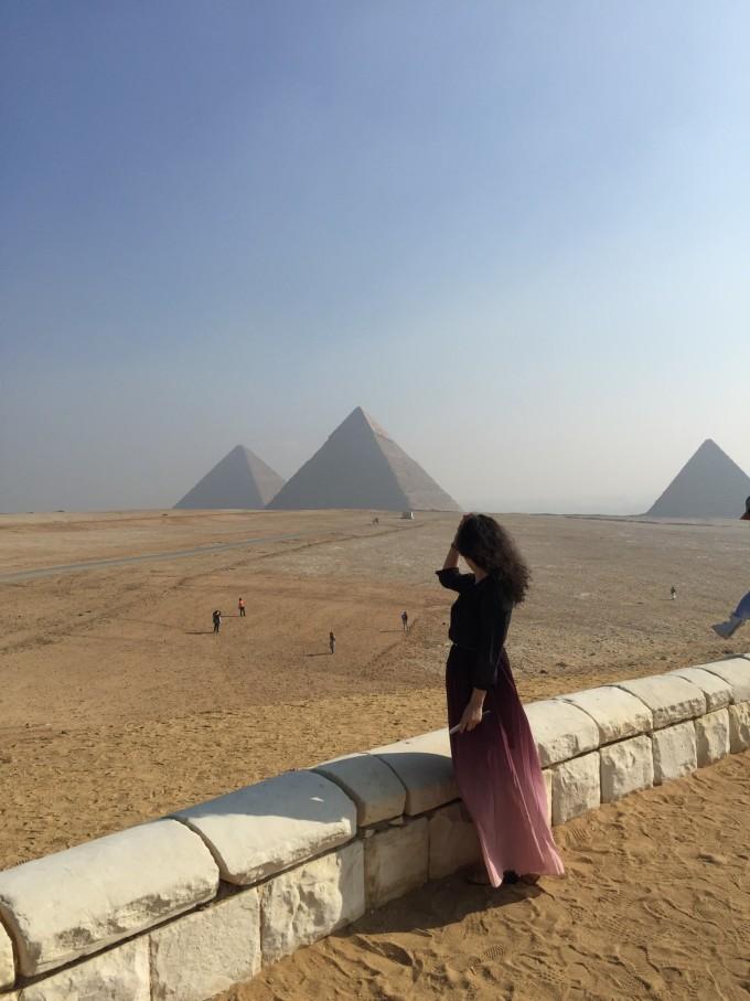 穿越在古埃及文明中,胡夫金字塔