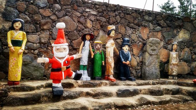 济州岛北村石头爷爷公园
