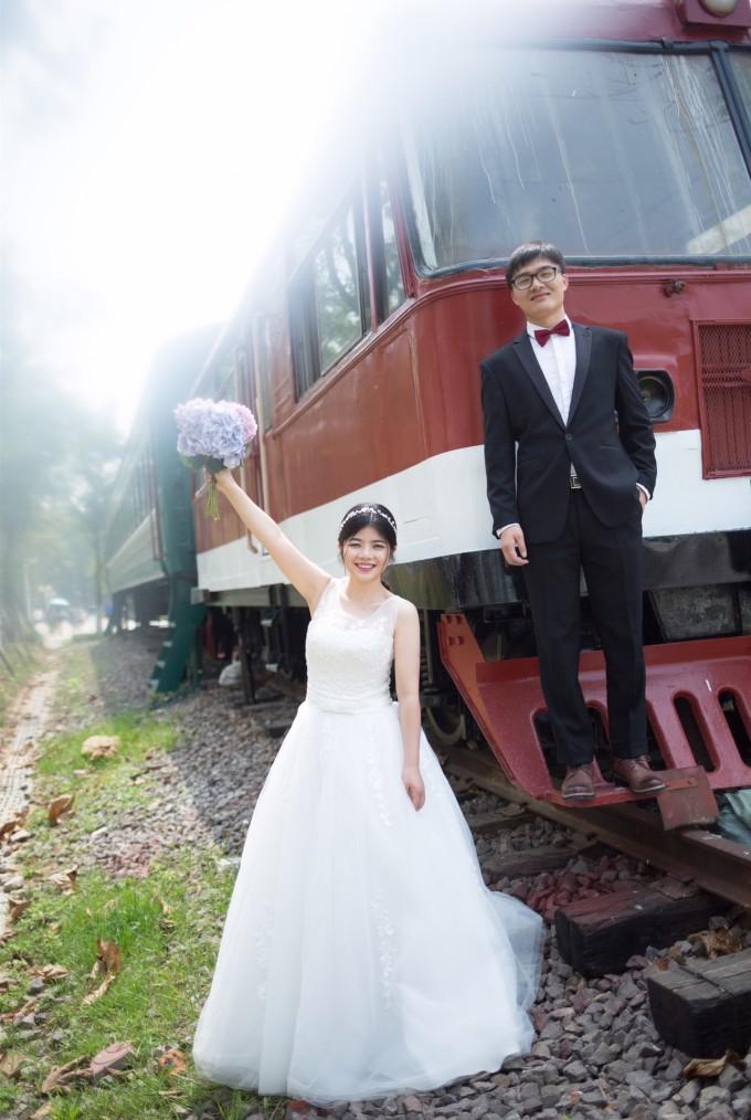 七月青岛,不一样的婚纱摄影体验