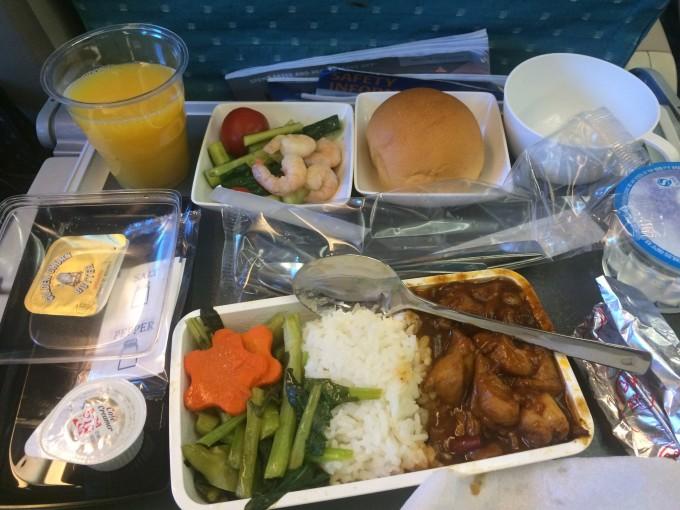 新加坡航空飞机餐