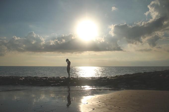 海边小石子素材
