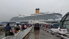 以意大利风情定位的歌诗达邮轮公司是欧洲地区最大的邮轮公司